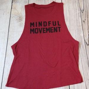 Alo yoga tank mindful movement sz S